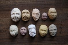 10 Sprouting Seed Faces by KelseyPike on Etsy. $3.00, via Etsy.