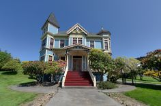 "For sale: $799,000. There is not another home like this on the North Coast.  Built in 1890, this ABSOLUTELY STUNNING Victorian is a testimony to the history Astoria holds. This home offers amazing views of the Columbia River, a partially covered deck, 4 car garage, hardwood floors and much more. Original Fireplaces and trim throughout, large dining room area, elegant entry and parlor rooms.  Upstairs is a ""bankers office"" with views of the river and the bridge.  There are too many…"