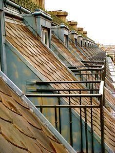 Rooftops, Paris   via 500px