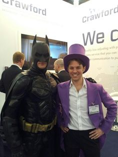 Even the world's greatest detective, Batman, is no match for cloud-based insurance scheme software. To the Quote-And-Buy cave...