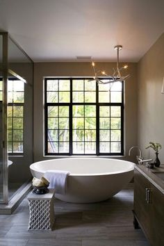 The bath tub!