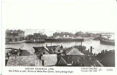 Kent Postcard - Dover Harbour c1906 - Prince of Wales Pier Centre   U833
