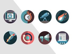 Apps Project Icons designed by Skelet Art. the global community for designers and creative professionals. Web Design, Flat Design Icons, Icon Design, Design Thinking, Picture Icon, Best Icons, Flat Illustration, Illustrations, Creative Icon
