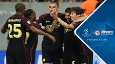 Melhores Momentos - Steaua Bucareste 0 x 5 Manchester City - Champions L...