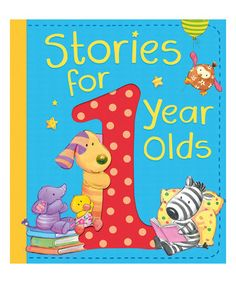 Another great find on #zulily! Stories for 1 Year Olds Hardcover #zulilyfinds