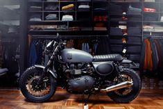 GOOD LIFE & GOOD TASTE: Motorcycle + art + fashion
