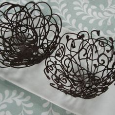 Make your own Lacy Chocolate Dessert Bowls. So elegant! And looks pretty easy.