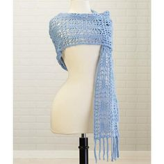 Free crochet pattern: Starburst Stole by Kathy North via Willow Yarns
