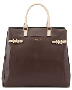 Trussardi Large Leather Tote