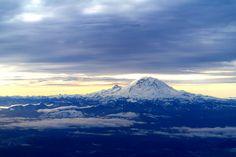 Mt. Rainer, WA at sunrise