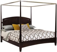 Alston King Canopy Bed by Kincaid Furniture -Rochester, NY Rep: Creative Commercial Designs- CreativeCommercialDesigns@gmail.com