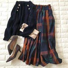 かわいさが止まらない!40代に似合うチェックスカートみつけた!【高見えプチプラファッション #66】 | ファッション誌Marisol(マリソル) ONLINE 40代をもっとキレイに。女っぷり上々!