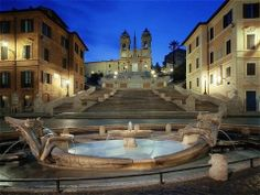 and Famous : Hotel Art by the Spanish Steps - Rome, Italy - Europe Places Around The World, Oh The Places You'll Go, Places To Travel, Places To Visit, Around The Worlds, Small Luxury Hotels, Best Hotels, Luxury Travel, Italy Vacation