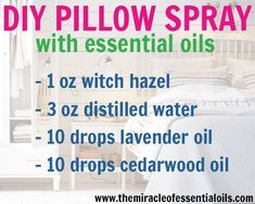 Use this DIY essential oil pillow spray to fall asleep faster and relax your mind while you drift off! Pillow sprays may seem like a weird thing but they're actually very useful for those of us who can't fall asleep fast. They use essential oils that induce sleep to help you fall asleep quicker by …