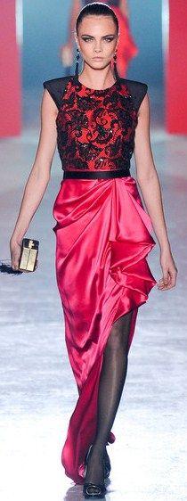 www.fashion2dream.com Loooove this dress Jason Wu Fall 2012