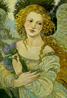 """Solace"" by Rebecca Guay, other original artwork available at the R. Michelson Galleries or at rmichelson.com"