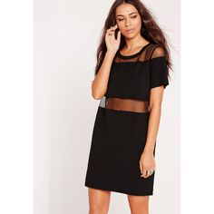 Mesh dresses are a key piece this season and this always on trend black  beauty… 2ac89a977