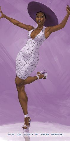 Fuck Yea Black Women Art!, DivaDee by FransMensinkArtist Visit...