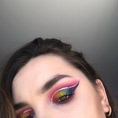 """Melody Barek on Instagram: """"Bonjour à tous !! 🌸 Aujourd'hui je me suis inspirée d'un makeup de @sissy.mkup !! 😍  Osez la couleur en cette période compliqué pour tout…"""" Hui, Septum Ring, Makeup, Rings, Jewelry, Instagram, Good Morning To All, Color, Make Up"""
