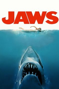 Jaws Movie Poster - Jaws Movie Poster – My Hot Posters -You can find Poster and more on our website.Jaws Movie Poster - Jaws Movie Poster – My Hot P. Jaws Movie Poster, Iconic Movie Posters, Iconic Movies, 80s Posters, Horror Movie Posters, Horror Movies, Comedy Movies, Movie Film, Cinema Tv
