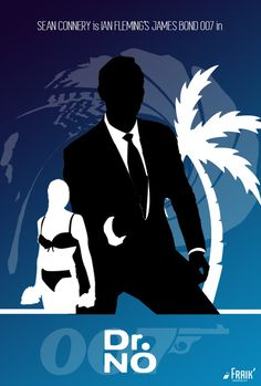 James Bond 007 - Poster Special Edition - Dr No