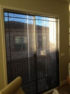 Kvartal Panels Mounted Inside A Sliding Gl Door