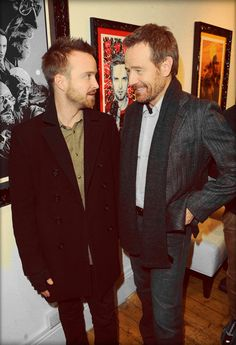 Aaron Paul, Bryan Cranston - IN FUCKING LOVE WITH THESE TWO!!!! <3