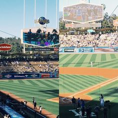 THINK BLUE: Yesterday was amazing I got to be able to see my boys play in front of the whole Dodgers stadium also perform the National Anthem  it was the best experience ever. The whole time I was just thinking to myself like damn is this real?! Are those my friends really performing in front of THE WHOLE DODGERS STADIUM?! They seriously did an amazing job just looking at videos from yesterday I get goosebumps. They amaze me each time they perform they get better and better. They deserved…