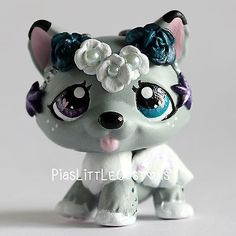 Shooting Star Flower Puppy (Piaslittlecustoms OC) Littlest Pet Shop LPS custom