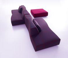 Bend sofa | B&b Italia | Patricia Urquiola