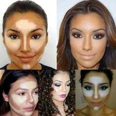 Facial Highlighting & Contouring Lightens dark under eye circles & slims face