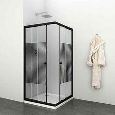 Eckdusche »Trento Black«, variabel verstellbar 80 - 90 cm, Duschkabine online kaufen | OTTO Decor, Furniture, Home Decor, Yourhome, Mirror