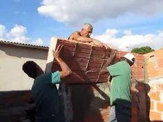 """AJUDAR O POVÃO PAREDE EM BLOCOS ' الجدار """" كتل HELPING povão WALL BLOCK"""