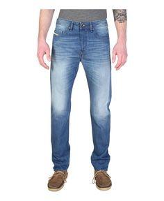 Mens jeans - length 32 - composition: 100%co - wash at 40°c - Jeans men buster Blue