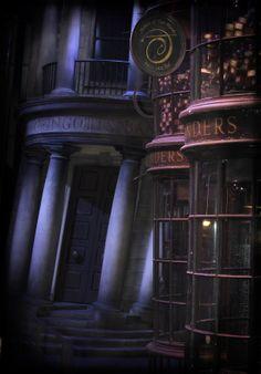 Gringotts Bank in Diagon Alley by Steven Stoddart on 500px