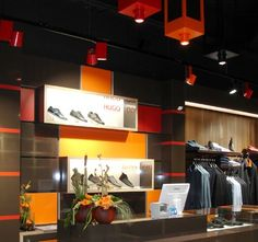 Hugo Boss | Lunoo How To Attract Customers, Hugo Boss, Lighting Design, Retail, Light Design, Retail Merchandising
