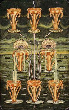 Belle Constantinne - 08 of Cups - Thoth Tarot Deck