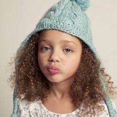 Rizitos de chocolate #girl #children #picture