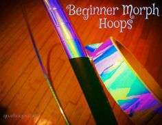 """Beginner Morph Hoop - Fully Taped - Performance & Professional Looking - Perfect Weight - Collapsible  ☆Full Tape Selection at gnarhoops.com☆   Getcho stellar hoop on, without having to purchase a polypro! Select from: 100 psi 3/4"""" ID PEX - same size as 3/4"""" OD Polypro 125 psi 1"""" ID PEX - quite thick and large  Most hoopers prefer 3/4"""" as it makes transitioning to polypro a fabulous breeze  Every hoop comes lined with gaffer tape for amazing grip and handling"""