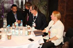 Filmteractive Market: discussion / From the left: Adipat Virdi (UK), Arkadiusz Świerczewski (CEO Iplex.pl / Poland),  Andres Joessaar (Head of Media Research Tallin University, Estonia), Ilze Gailite-Holmberga (Director National Film Centre, Latvia)