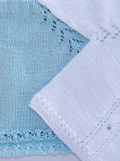 puntomoderno.com jersey de bebé con flores Knit Baby Sweaters, Baby Knitting Patterns, Crochet, Home Decor, Manga Raglan, 1, Children, Crochet Baby, Knitting Needles
