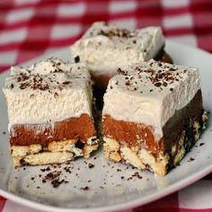 chocolate arrowroot squares - xmas cookie exchange