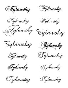 tattoo fonts for men