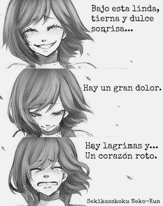 Es la realidad de muchos corazones especialmente si de chicas hablamos, son admirables, esconden su dolor por no dañar a otros