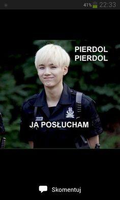 Bts Kiss, Polish Memes, K Meme, Quality Memes, Reasons To Smile, Bts Members, Reaction Pictures, Bts Jimin, Best Memes