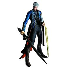 (Kid Math Games)Square Enix Devil May Cry Play Arts Kai Vergil Action Figure Math Games For Kids, Baby Games, Dysfunctional Relationships, Prehistoric Dinosaurs, Devil May Cry, Kai, Action Figures, Cool Things To Buy, Superhero