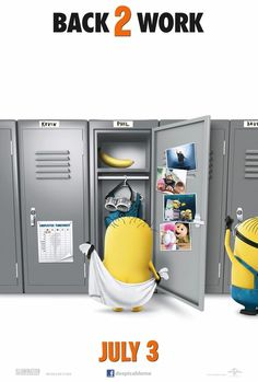 The minions are back in #despicleableme2!