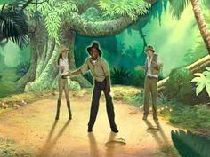 Just Dance Disney - The Bear Necessities (Wii Rip) - YouTube