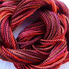 Hand Dyed 1800 Rayon 8 by colourcomplements
