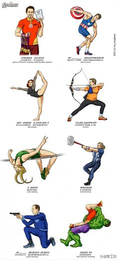 Olympic Games for The Avengers